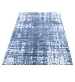 Високоворсный килим LOTUS 0942 BLUE-CREAM