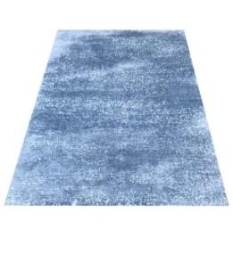 Високоворсный килим LOTUS 0944 BLUE-P.CREAM