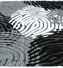 Высоковорсный ковер Luna 2454a p.black-p.grey
