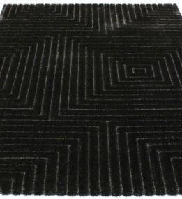 Высоковорсный ковер Luna 2455a p.black-p.black