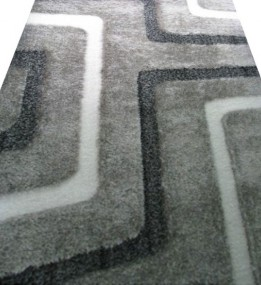 Високоворсний килим Luxory S195A grey