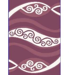Високоворсний килим Polyester (Loop / Porto) Shaggy B606A D.VIOLET