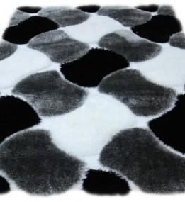 Високоворсный килим Safari 1866A CREAM-GRAY