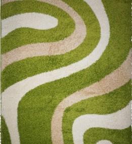 Высоковорсный ковер Shaggy 9109A Green-Optik Beyaz