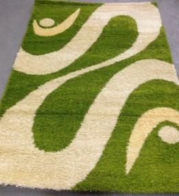 Высоковорсный ковер Shaggy 0731 зеленый