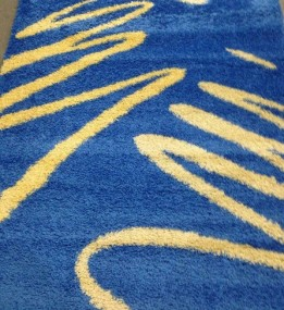 Высоковорсный ковер Shaggy 0791 синий