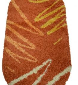 Високоворсний килим Shaggy 0791 terracotta