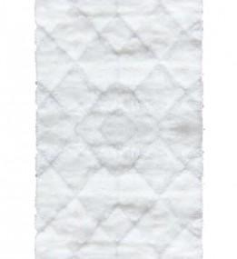Высоковорсный ковер Softy 3D 2212A White