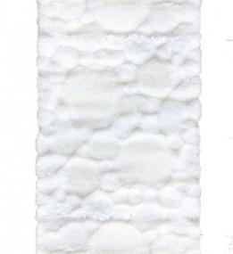 Высоковорсный ковер Softy 3D 2270A white