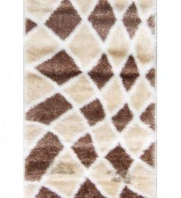 Высоковорсный ковер Softy 3D 2477A White