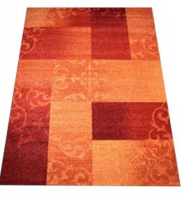 Високоворсний килим Wellness 5129 orange