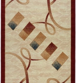 Синтетический ковер Almira 2327 Cream-Red