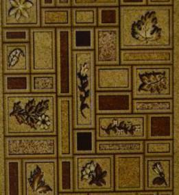 Синтетический ковер Amber 0154A kahve-bej