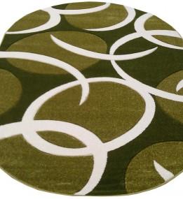 Синтетический ковер SENFONY 0423A green-green