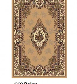 Синтетичний килим Berber 668