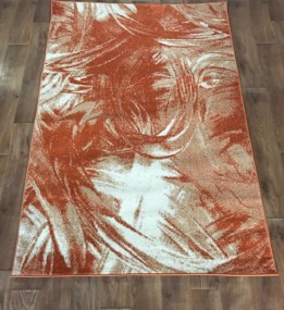 Синтетичний килим Color 3022 orange-ivory
