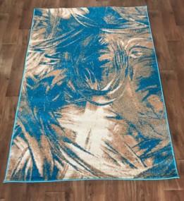 Синтетический ковер Color 3022 turkuaz-ivory