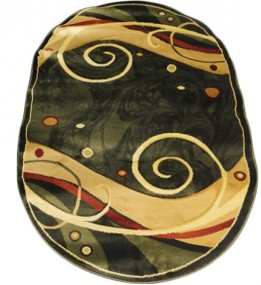Синтетичний килим Elegant 3950 green