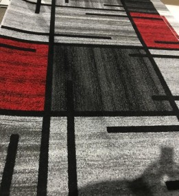 Синтетический ковер Espresso 02239А red