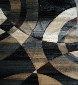 Синтетический ковер Faust 4332A black