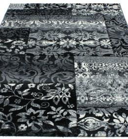 Синтетичний килим Festival 7955A black-l.grey