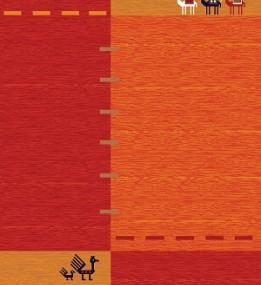Иранский  ковер Gabbeh Darab Red
