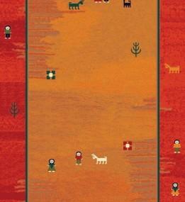 Иранский ковер Gabbeh Delvar Red
