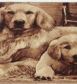 Ковер картина с животными Gold 212-12