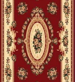 Синтетический ковер Heat-Set 6543A RED