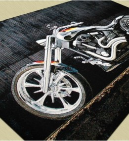 Ковер картина с мотоциклом Kolibri (Колибри) 11185/180