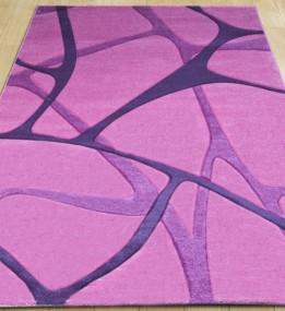 Синтетический ковер Legenda 0393 паутина розовый