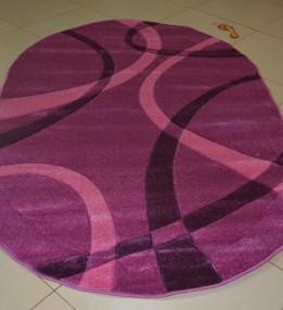 Синтетичний килим Legenda 0353 формула рожевий