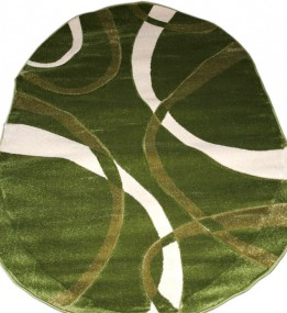 Синтетический ковер Legenda  0353 формула зелёный