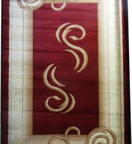 Синтетический ковер Liliya 0517 т.красный