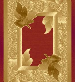 Синтетический ковер Liliya 0557 т.красный
