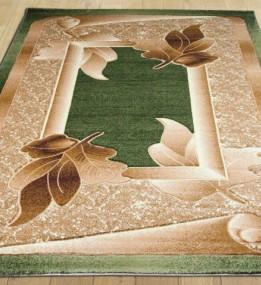 Синтетический ковер Liliya 0557 зелёный