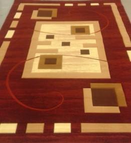 Синтетический ковер Liliya 0537 т.красный