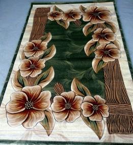 Синтетический ковер Liliya бутон-дерево зеленый