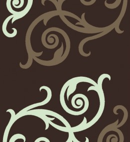 Синтетический ковер Melisa 395 brown