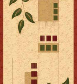 Синтетический ковер Melisa 0224D beige-red