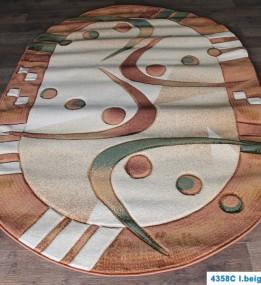 Синтетичний килим Nidal 4358C l.beige-brown