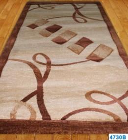 Синтетический ковер Nidal 4730B l.beige-brown