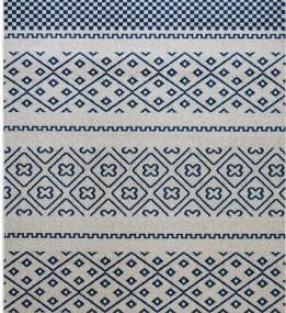 Синтетический ковер Optima 78151 Ivori-Blue