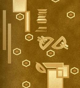 Синтетичний килим Selena 375 , BROWN