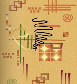 Синтетичний килим Selena 3068 , BEIGE