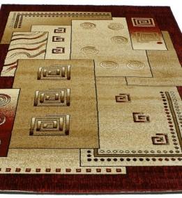 Синтетический ковер Super Elmas 3055B ivory-d.red