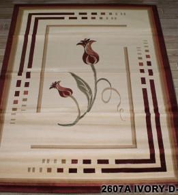 Синтетический ковер Super Maral 2607a ivory-d.red
