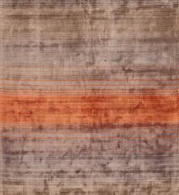 Ковер из вискозы Holborn Stripe Orange