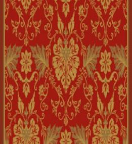 Ковер из вискозы Schenille 7411A red