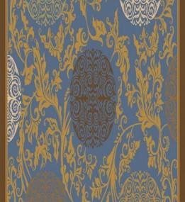 Ковер из вискозы Schenille 7417A blue